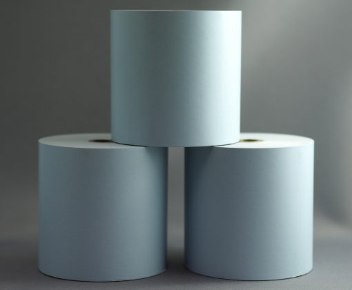 Blue 80x80 thermal roll
